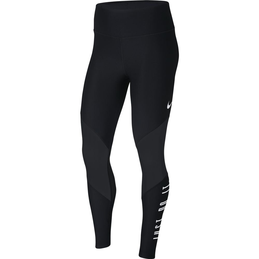 Nike Women's Power Mesh GRX Tight Black FA18 010 - achilles heel