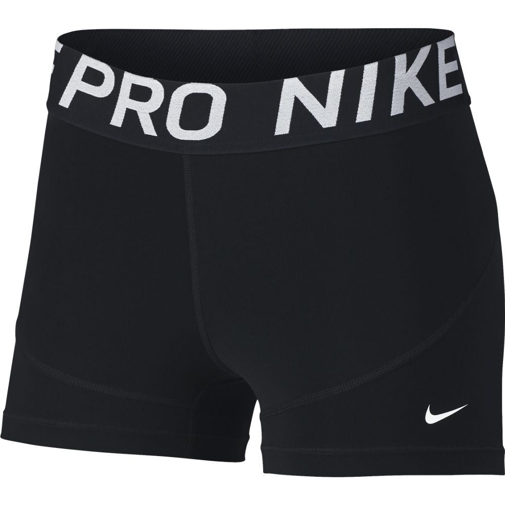 Nike Women's Pro 3 Inch Short Black SU19 010