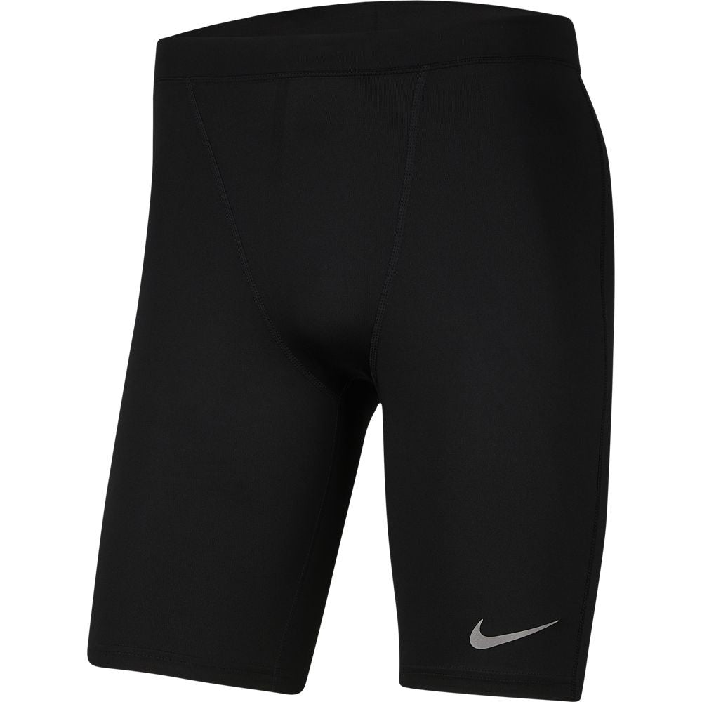 Nike Men's Power Run Tight Short Black - achilles heel