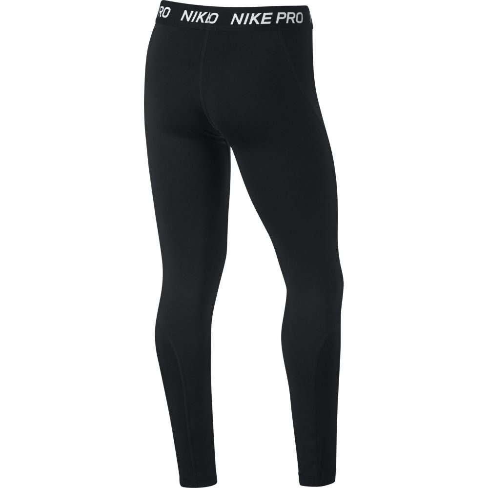 Nike Girls Pro Tight Black SU19 010