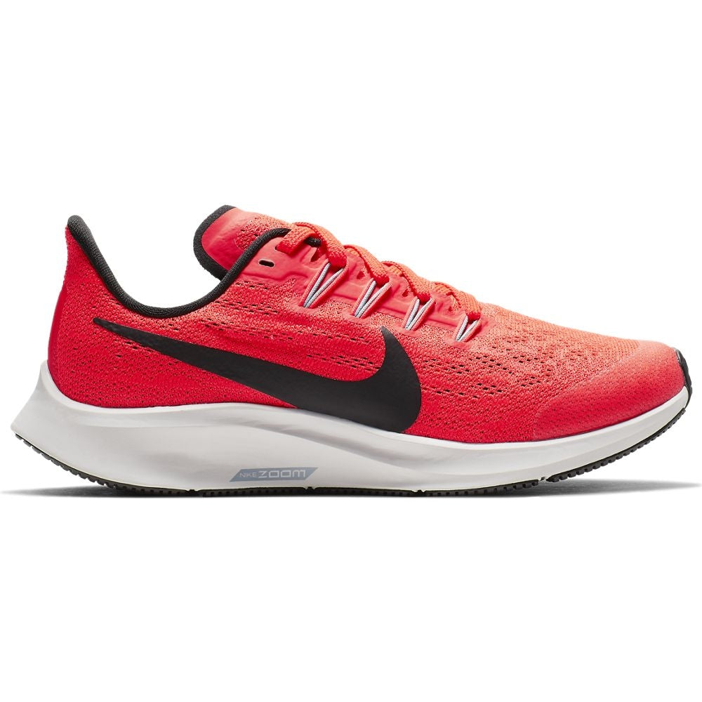 Nike Kids Air Zoom Pegasus 36 Running Shoes Bright Crimson / Black  /Vast Grey