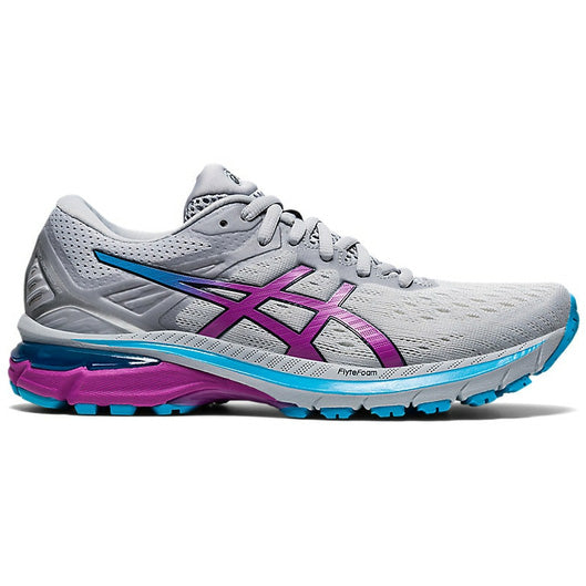 Asics Women's GT-2000 9 Running Shoes Piedmont Grey / Digital Grape - achilles heel
