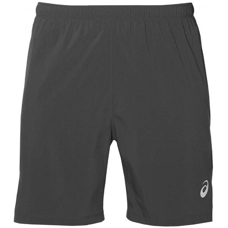 Asics Men's Silver 2 in 1 7 inch Short Dark Grey SS19 021