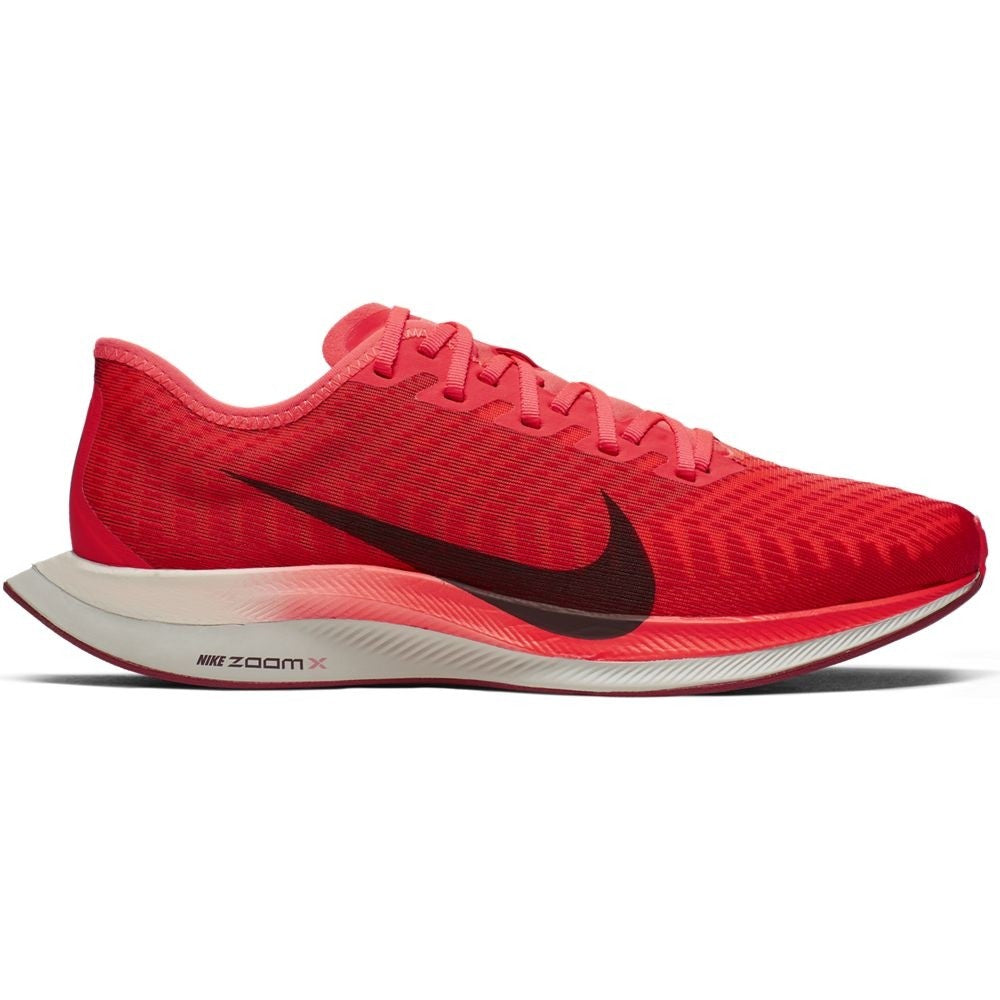 Nike Men's Zoom Pegasus Turbo 2 Running Shoes Bright Crimson / Mahogany
