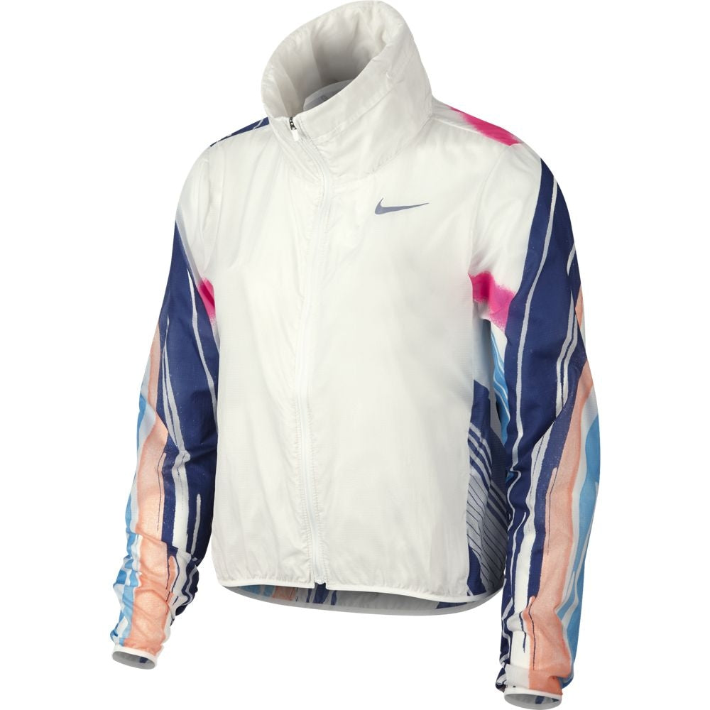 Nike Women's Impossibly Light Running Jacket Summit White SS19 121 - achilles heel