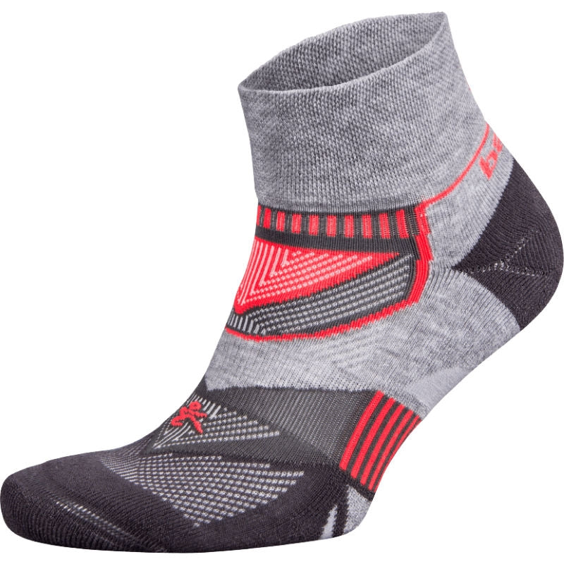 Balega Enduro V-Tech Grey Carbon Running Socks