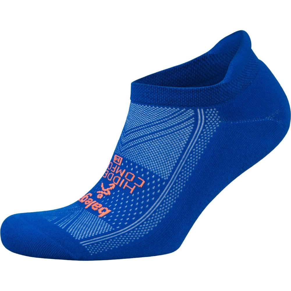 Balega Hidden Comfort Neon Blue Running Socks