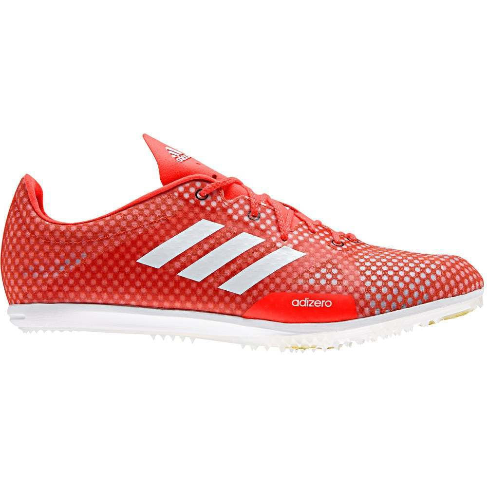 adidas adiZero Ambition 4 Rio Men's Running Spikes Solar Red & White - achilles heel