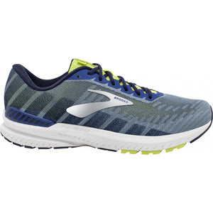 Brooks Men's Ravenna 10 Running Shoes Sodalite / Lime / Dark Navy - achilles heel