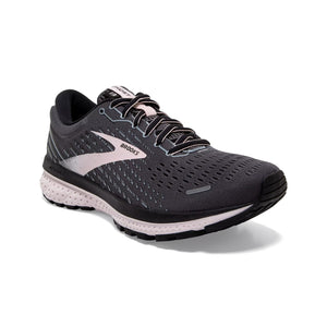 Brooks Women's Ghost 13 Wide Fit Running Shoes Black / Pearl / Hushed Violet - achilles heel
