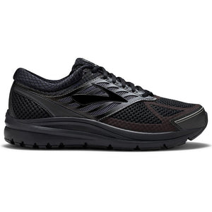 Brooks Men's Addiction 13 Running Shoes Black / Ebony - achilles heel