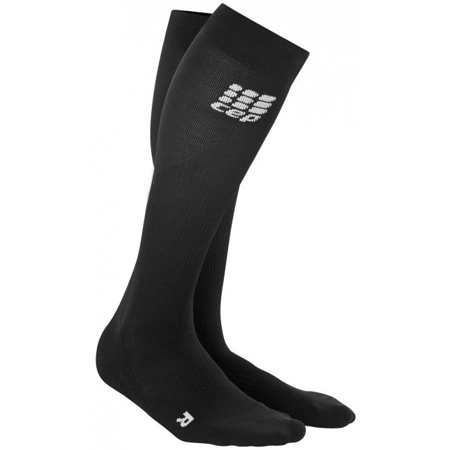 CEP Women's Compression Pro Run Socks 2.0 Black - achilles heel