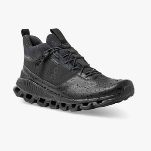 On Men's Cloud Hi Waterproof Black - achilles heel