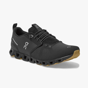 On Men's Cloud Terry Running Shoes Black - achilles heel
