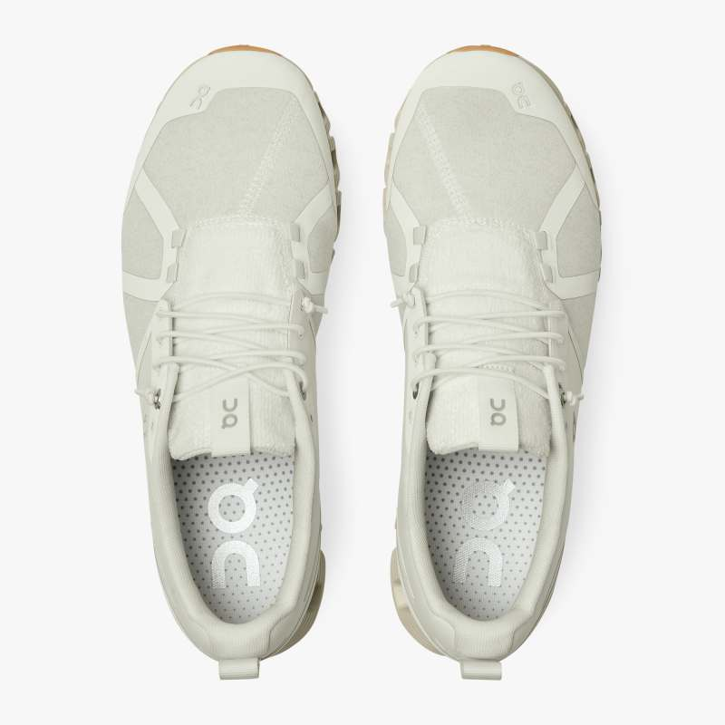 On Men's Cloud Terry Running Shoes White - achilles heel