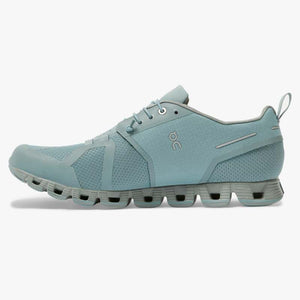 On Men's Cloud Waterproof Running Shoes Cobble / Lunar - achilles heel