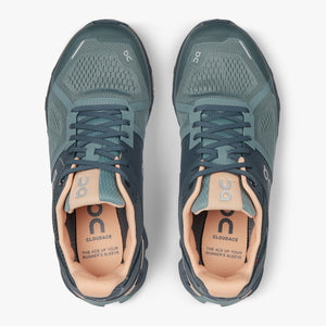 On Women's Cloudace Running Shoes Sea /  Almond - achilles heel