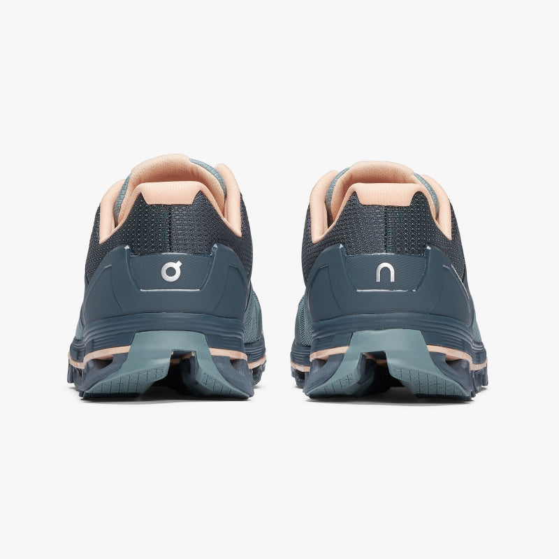 On Women's Cloudace Running Shoes Sea & Almond