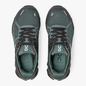 On Women's Cloudace Running Shoes Graphite / Olive - achilles heel