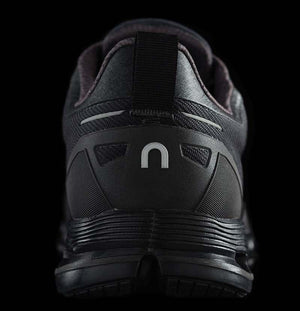 On Men's CloudFlyer Waterproof Running Shoes Black  / Lunar - achilles heel