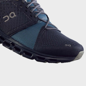 On Women's Cloudstratus Running Shoes Navy & Dust AW19