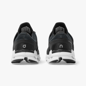 On Men's CloudSwift Running Shoes Black / Rock