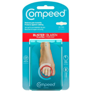 Compeed Blister Plasters - On Toes - achilles heel