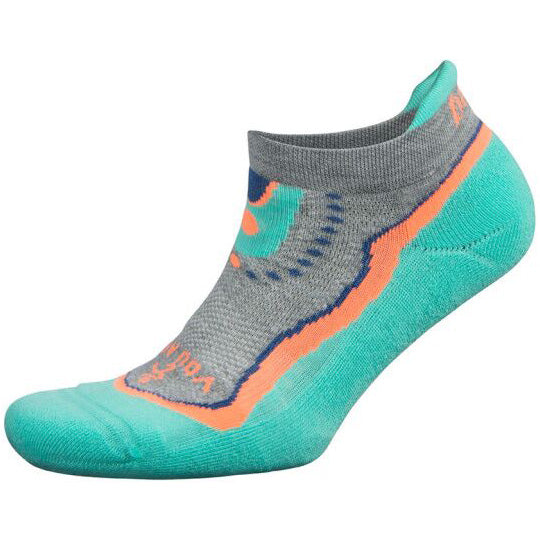 Balega You Are Enough Enduro No Show Running Socks Light Aqua / Midgrey