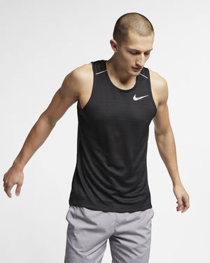 Nike Men's Dry Miler Tank Black SP19 010