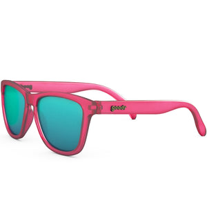 Goodr Flamingos on a Booze Cruse Running Sunglasses