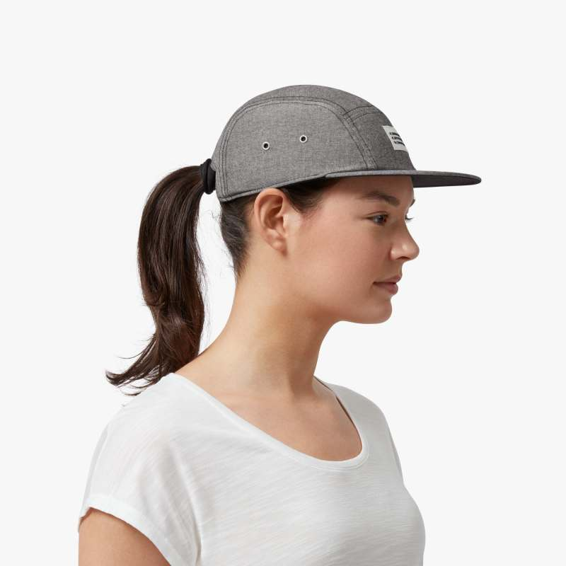 On 5 Panel Cap Grey - achilles heel