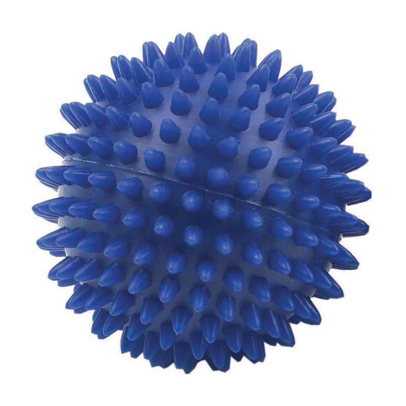 FITNESS MAD SPIKEY MASSAGE BALL 9CM BLUE