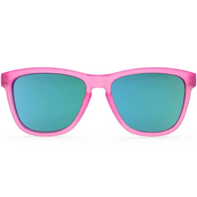 Goodr Flamingos on a Booze Cruise Running Sunglasses