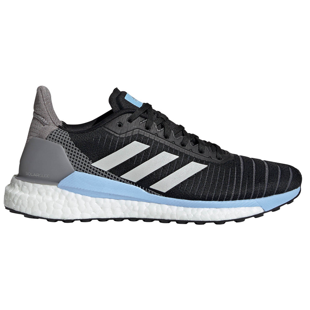 adidas Women's Solar Glide 19 Black / Blue / Grey