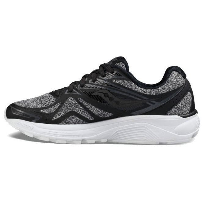 Saucony Women's Ride 9 LR Running Shoes Grey - achilles heel