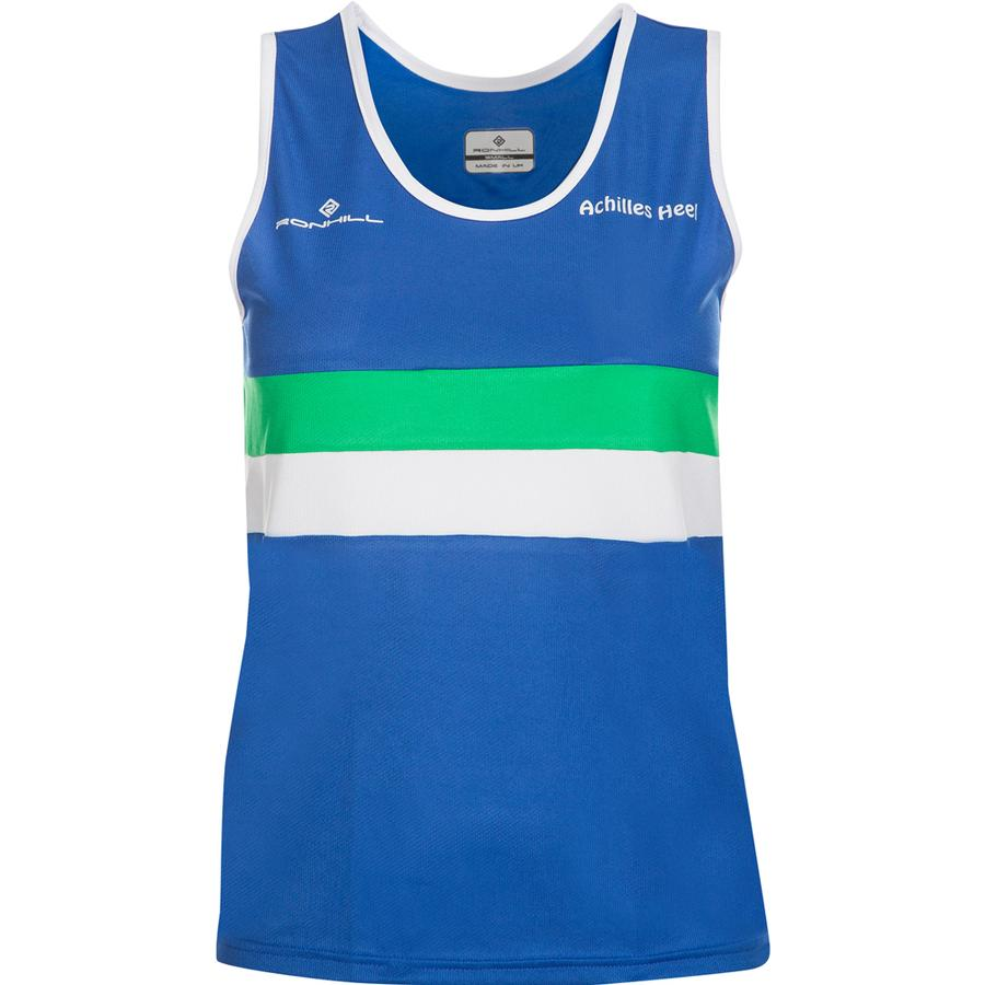 Victoria Park City Of Glasgow AC Vest Kids Blue - achilles heel