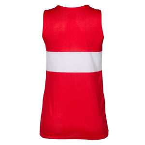Cambuslang Harriers Women's Vest Red & White