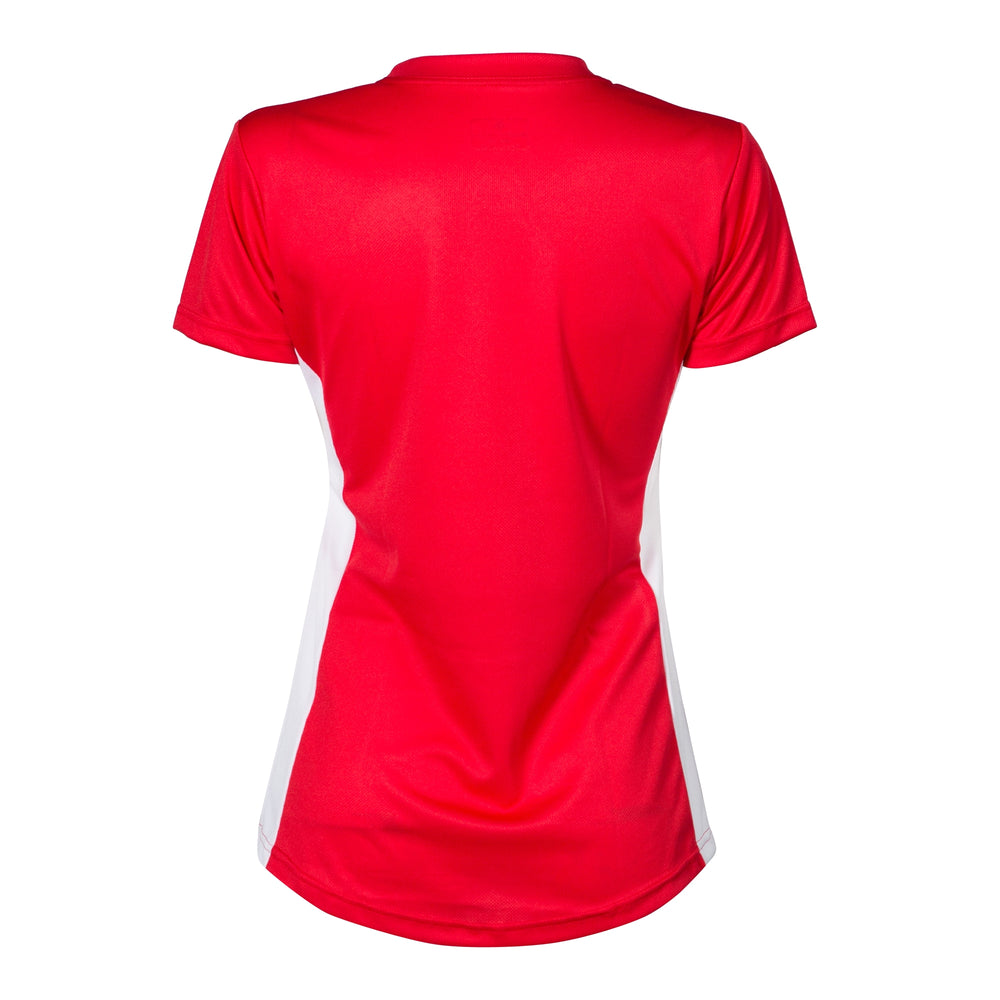 Cambuslang Harriers Women's Tee Red & White