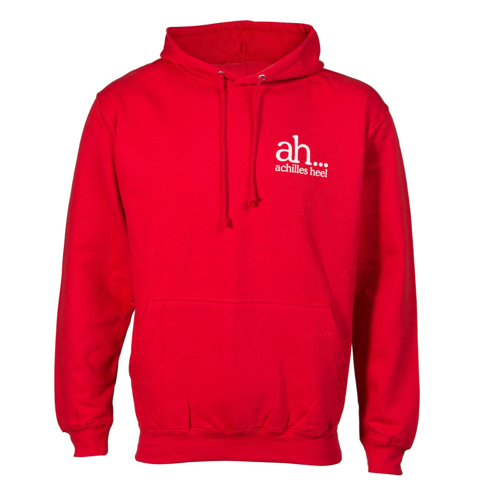 Cambuslang Harriers Hoodie Red & White