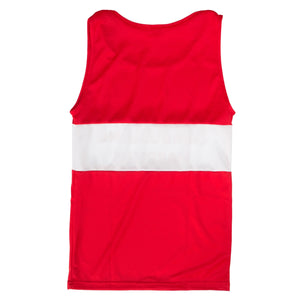 Cambuslang Harriers Kids Vest Red & White