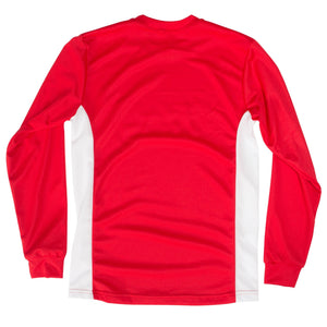 Cambuslang Harriers Kids LS Top Red & White - achilles heel
