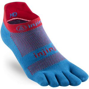 Injinji Run Lightweight No-Show Socks Superhero