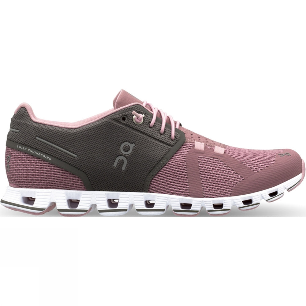 On Women's Cloud Running Shoes Charcoal Rose