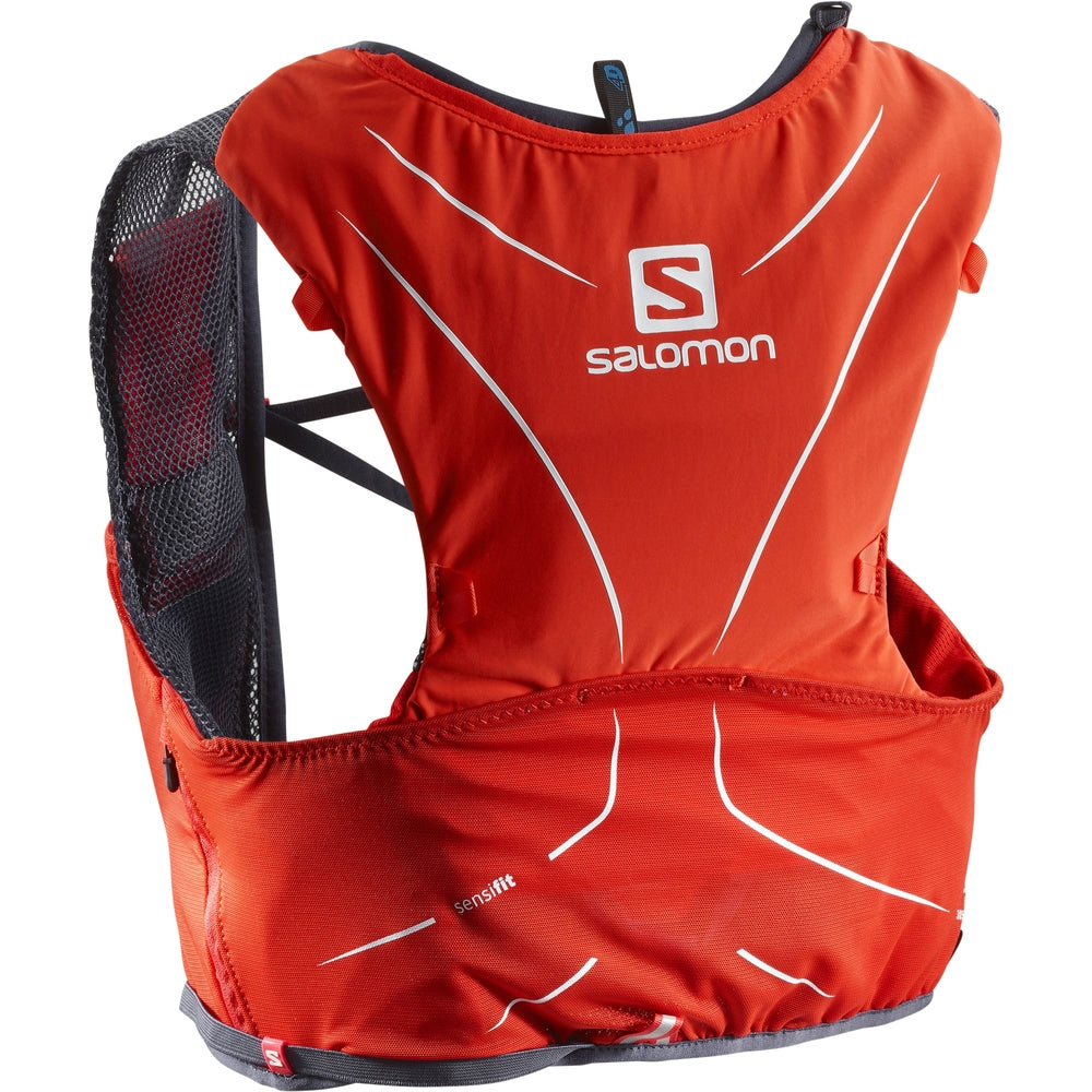 Salomon Advanced Skin 5 Set Red - achilles heel