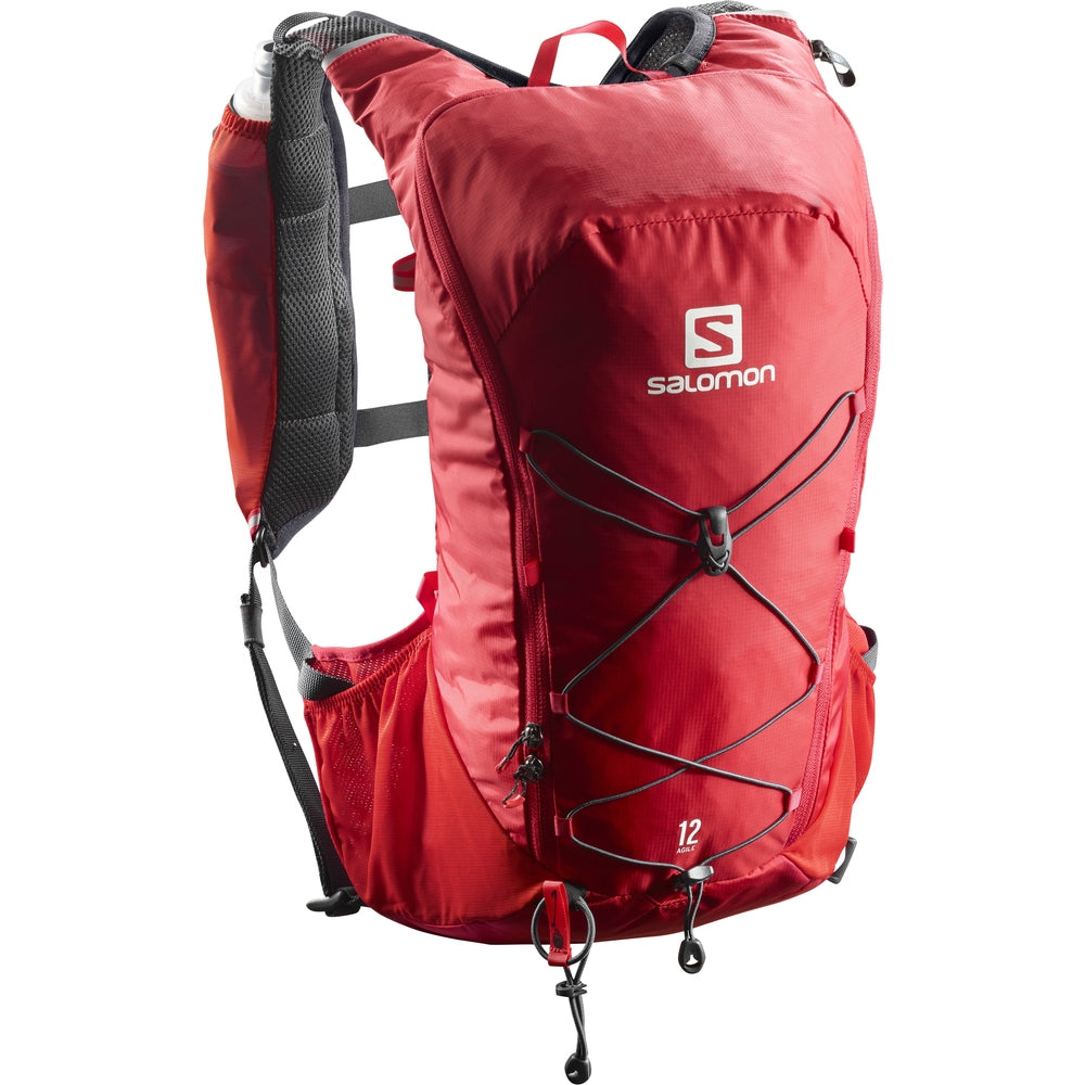 Salomon Agile 12 Set Running Backpack Red