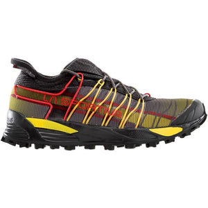 La Sportiva Men's Mutant Fell Running Shoes Black / Yellow - achilles heel