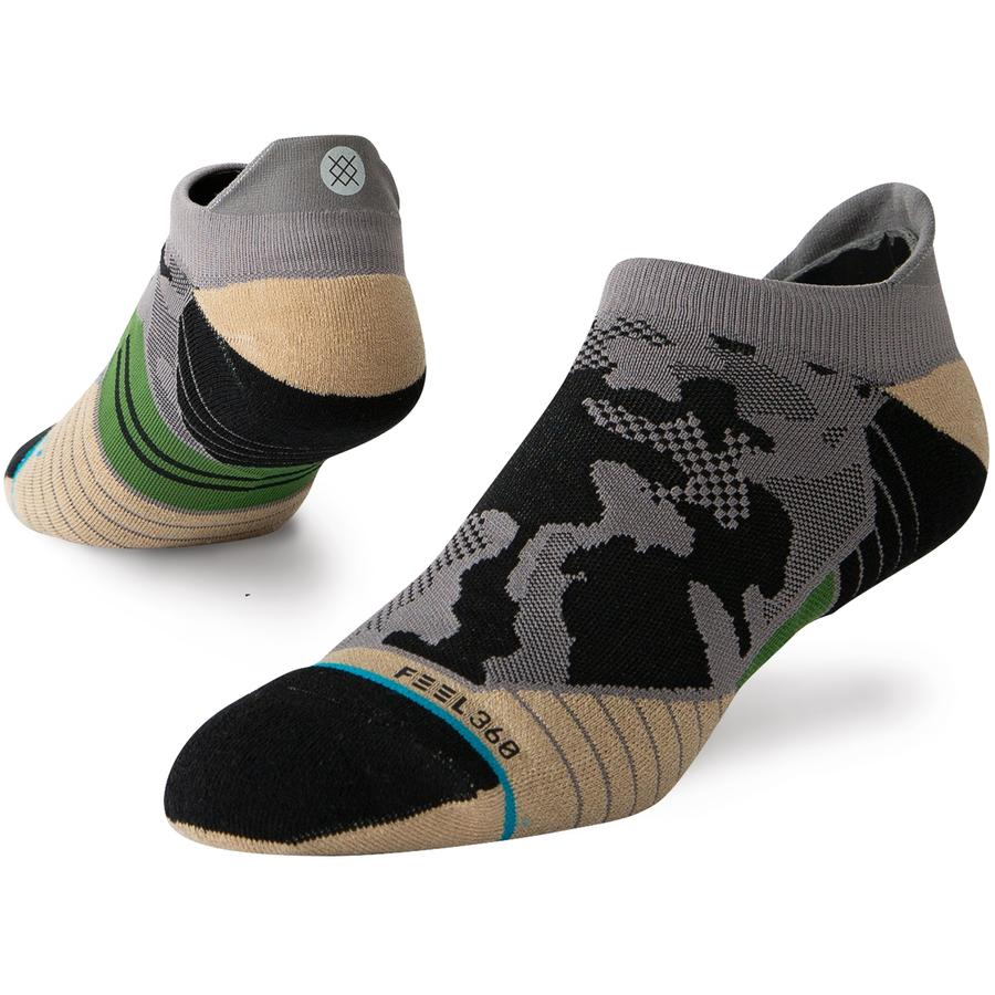 Stance Men's Smoked Camo Tab Run Sock - Grey