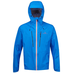 Ronhill Men's Infinity Fortify Jacket Electric Blue / Flame Red - achilles heel
