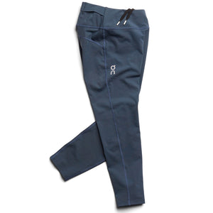 On Women's 7/8 Tight Navy - achilles heel