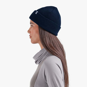 On Merino Beanie Navy